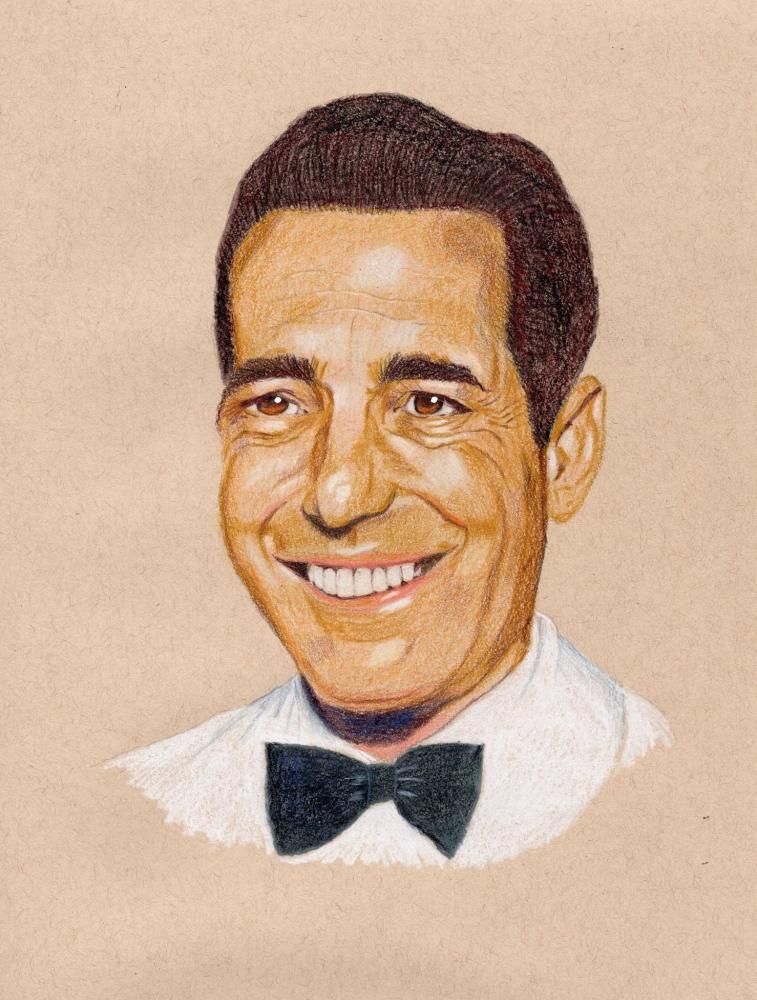 Humphrey Bogart par davido53